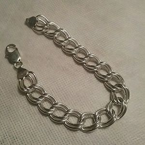 Jewelry - Sterling silver bracelet  7 inch